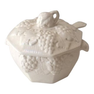 White California Ironstone Tureen