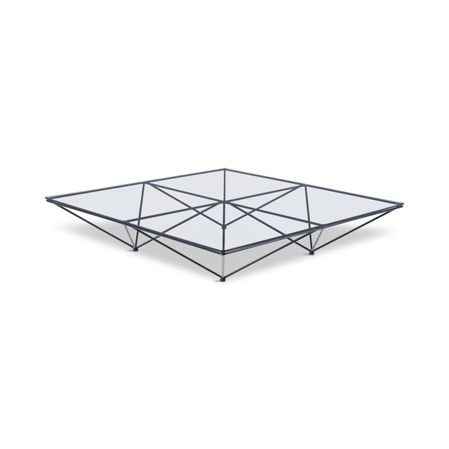 Alanda Square Coffee Table by Paolo Piva for B&b Italia For Sale - Image 11 of 11