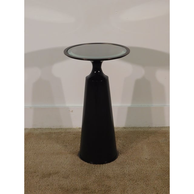 Baker Furniture Company Virdine Round Accent Table For Sale In South Bend - Image 6 of 7