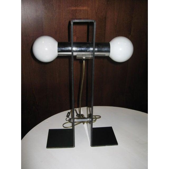 Italian Fume Acrylic Lamp - Image 2 of 4