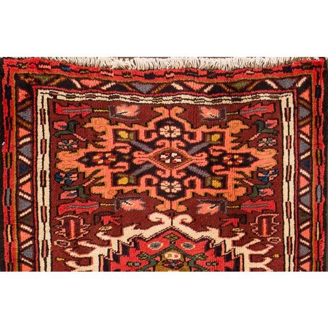 "Islamic Apadana - Vintage Persian Heriz Rug, 2'5"" x 6' For Sale - Image 3 of 5"