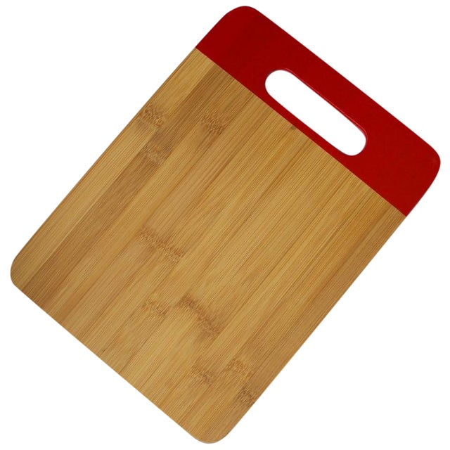 Red Bamboo Cutting Board - Image 1 of 3