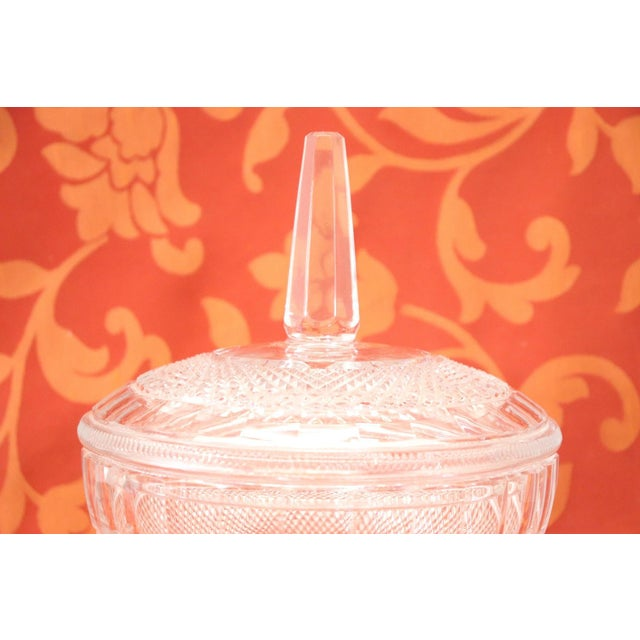 Mid-Century Modern 20th Century Crystal Centrepiece, 1980s For Sale - Image 3 of 9