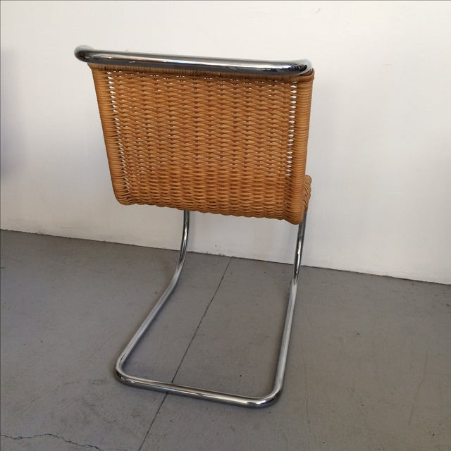 Mies Van Der Rohe Mr Chrome Armless Chair For Sale In San Francisco - Image 6 of 9