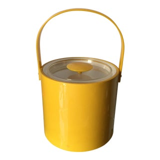 Georges Briard Yellow Champagne Bucket For Sale