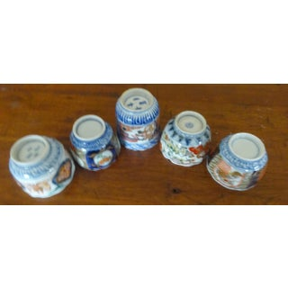 Antique Imari Tea Cups Late 19th Century - Set of 5 Preview