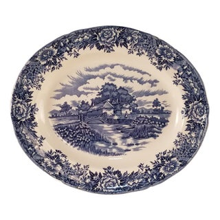 Salem English Village China Dinner Platter