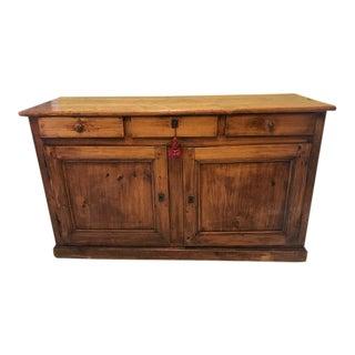 Antique Welsh Pine Sideboard For Sale