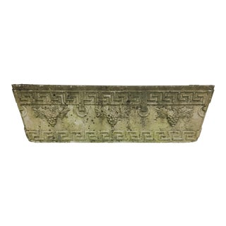 English Greek Key Planter- 4 Available For Sale