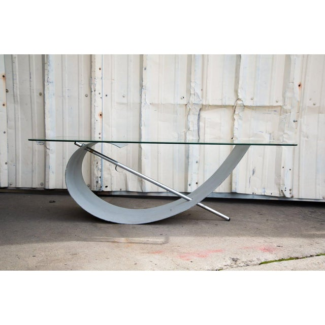 1970s Modern Abstract Sculptural Coffee Table For Sale - Image 12 of 12