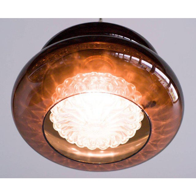 Orrefors Carl Fagerlund Glass 'Bubblan' Pendant for Orrefors, Sweden For Sale - Image 4 of 7