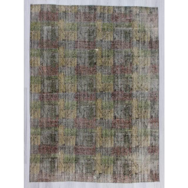 """Vintage Turkish Zeki Muren Rug - 6'7"""" x 9'1"""" - Image 2 of 6"""