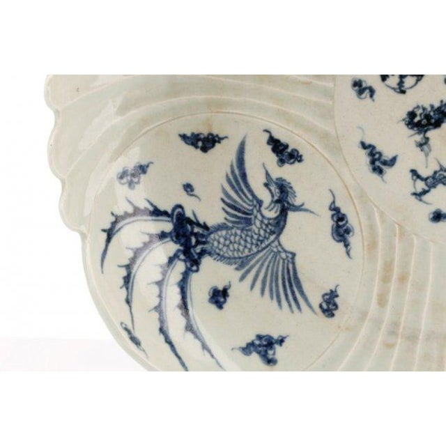 Chinese Blue & White Porcelain Chargers - A Pair - Image 4 of 9