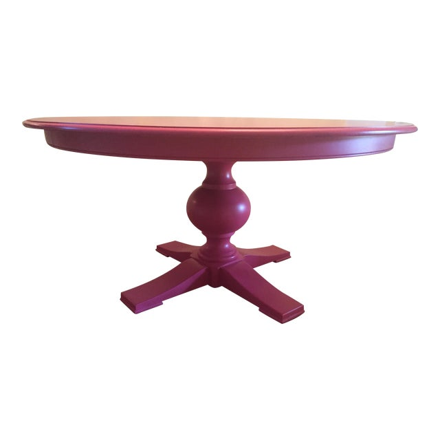 Ethan Allen Cooper Dining Table - Image 1 of 4