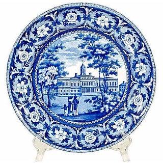 19th Century Ridgeway New York City Hall Plate