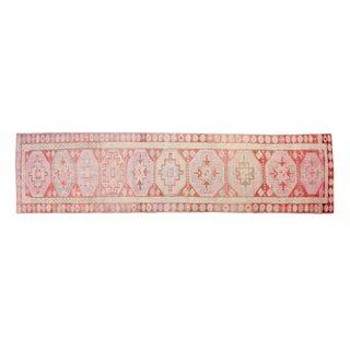 House of Séance - 1950s Vintage Kurdish Handmade Rug- 2′8″ × 10′4″ For Sale