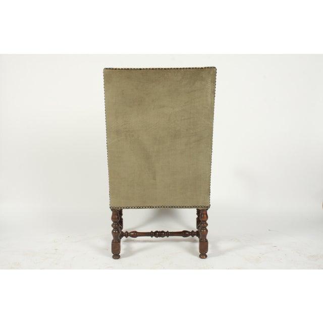 1890s Renaissance Revival-Style Armchair For Sale - Image 9 of 10
