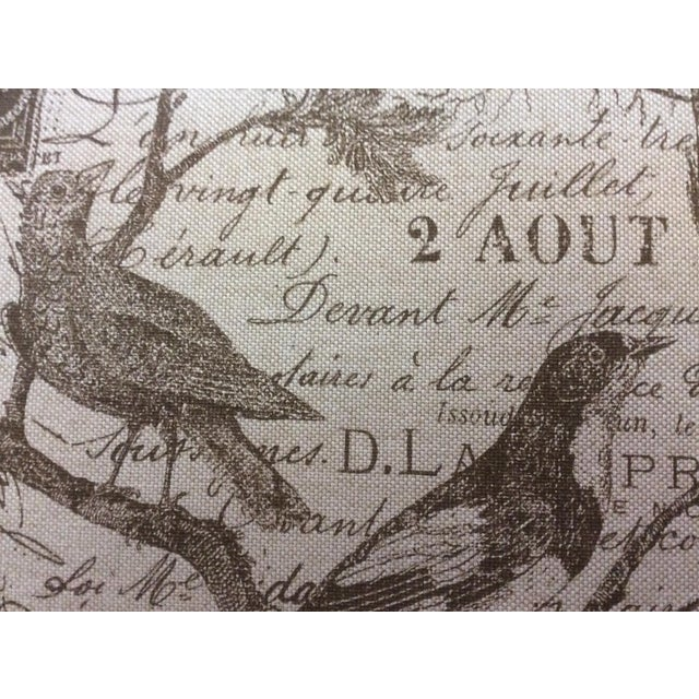 1900 - 1909 1900s Vintage Federal Bird Motif Stool For Sale - Image 5 of 6