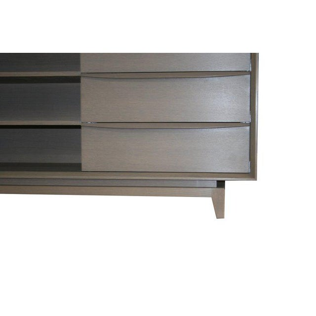 Customizable Orlando Sculpted Handle Credenza For Sale - Image 9 of 10