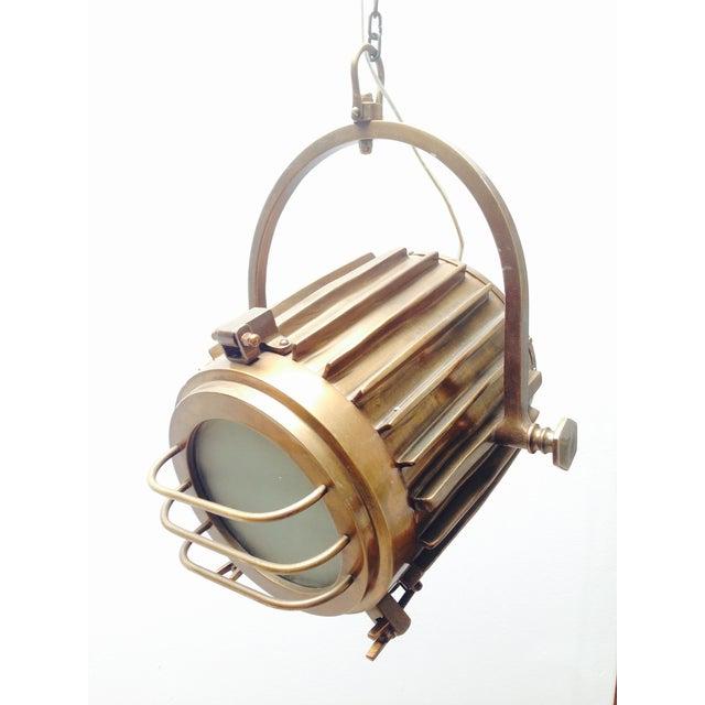 Bronze Industrial/Nautical Hanging Pendants - Image 2 of 11