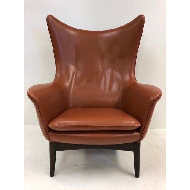 Mid-Century Modern Reclining Lounge Chair by H.W. Klein For Sale - Image 3 of 6