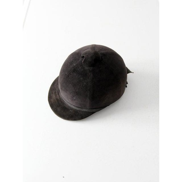 Vintage Equestrian Hat For Sale - Image 6 of 8