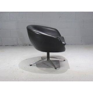 Overman Black Swivel Pod Chair Preview
