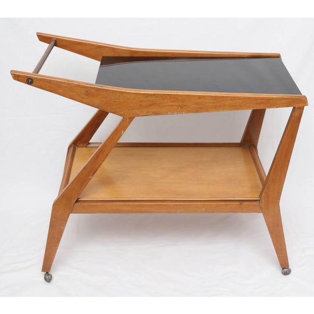 Tilly Stickell Mid-Century Modern Bar Cart, 1950s For Sale - Image 4 of 9