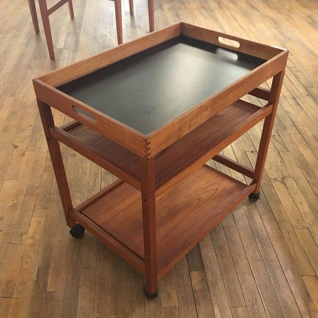 Mid-Century Modern Bar Cart - Image 2 of 5