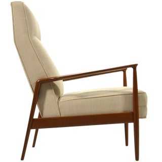 Ib Kofod-Larsen Highback Lounge Chair For Sale