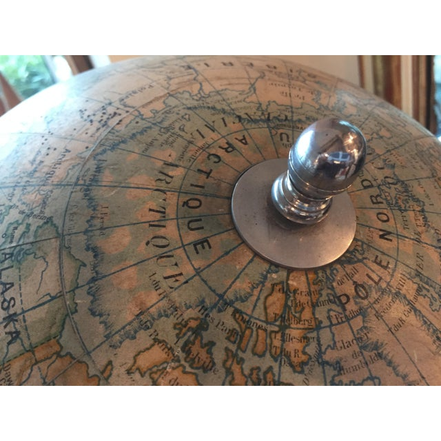 Early 20th Century French Plaster Globe For Sale - Image 4 of 10