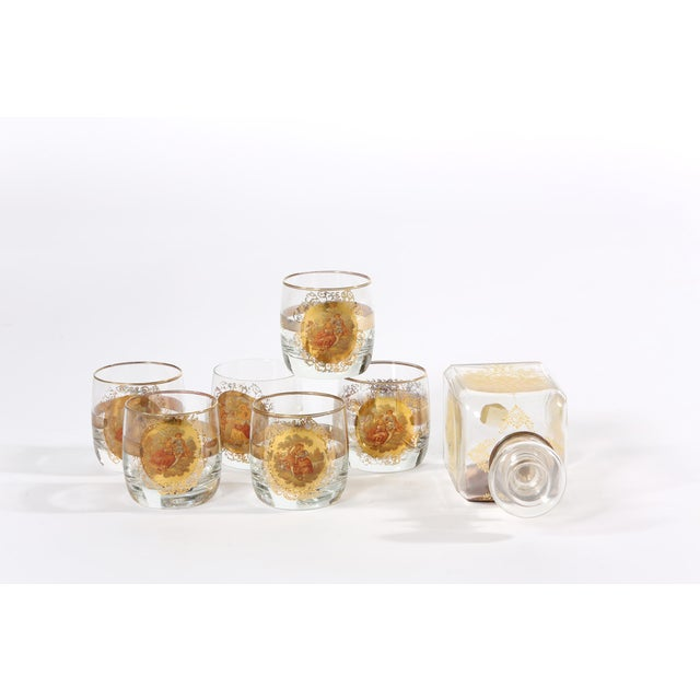 Mid 20th Century Barware Service for Six People For Sale - Image 4 of 11