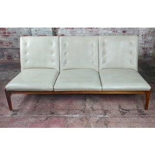 Mid-Century Danish Teak & Leather Sofa Preview