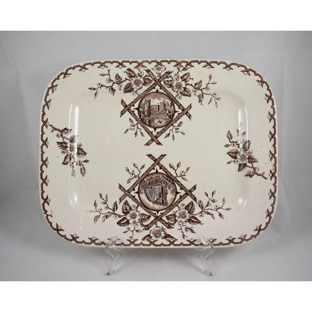 An Aesthetic Movement platter, Whitaker & Co, Hanley, Staffordshire, England, circa 1886 – 1892. The Japonesque 'Alaska'...