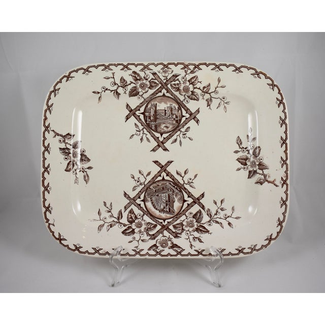 An Aesthetic Movement platter, Whitaker & Co, Hanley, Staffordshire, England, circa 1886 – 1892. The Japonesque 'Alaska'...