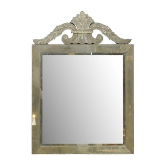 Roma Venetian Style Mirror, Handmade and Hand Silvered For Sale