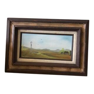 """The Farm"" Oil Painting"