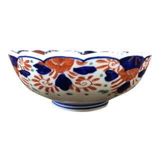 Vintage Imari Porcelain Bowl For Sale