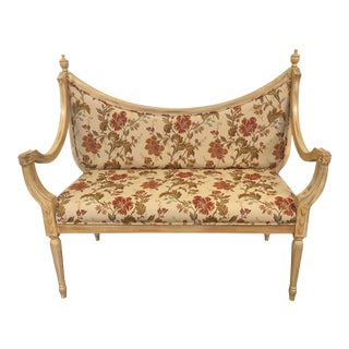 21st Century Neoclassical Style Settee Bench For Sale