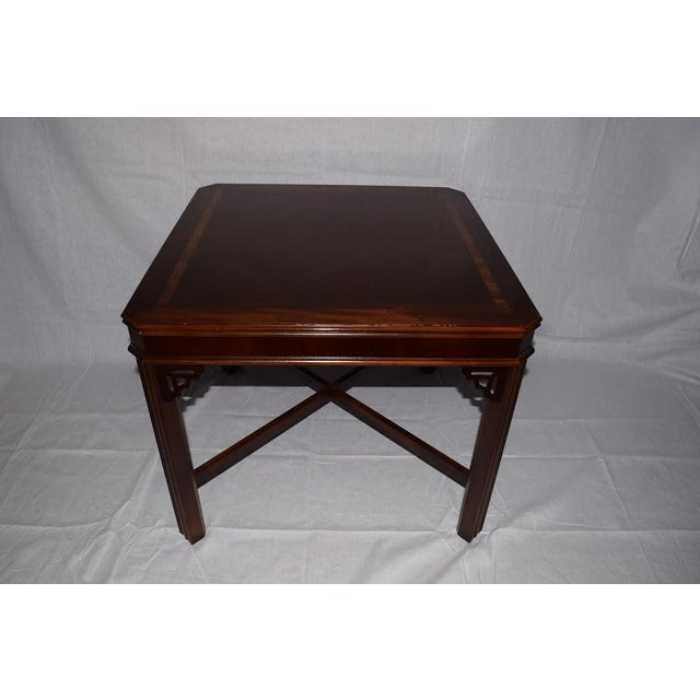 1990s Chippendale Lane Cocktail/End Table For Sale In Greenville, SC - Image 6 of 6