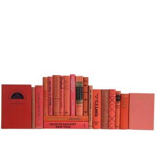 Vintage Mid Century Melon Book Mix - Set of 20