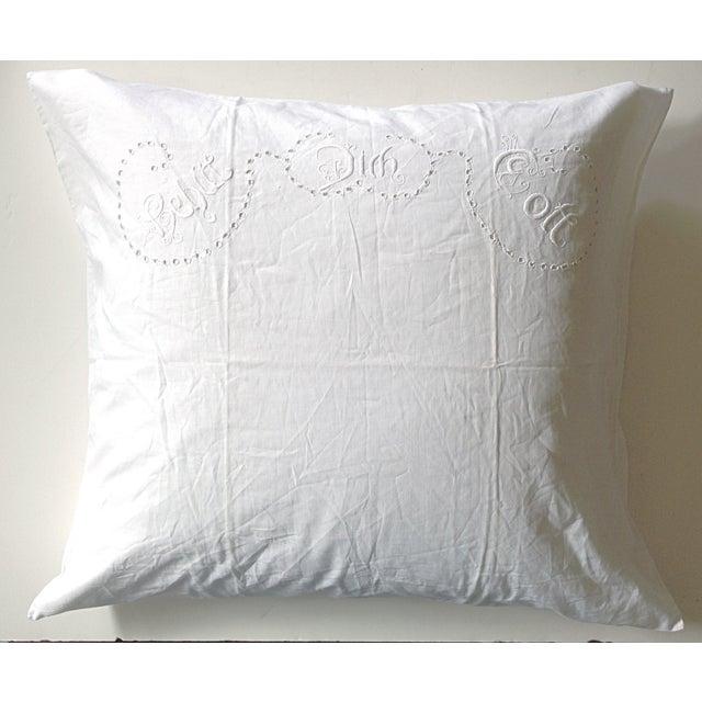 European German Blessing Pillow Sham - Image 2 of 5