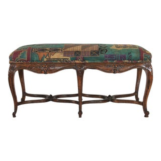 French Louis XV Style Bench For Sale
