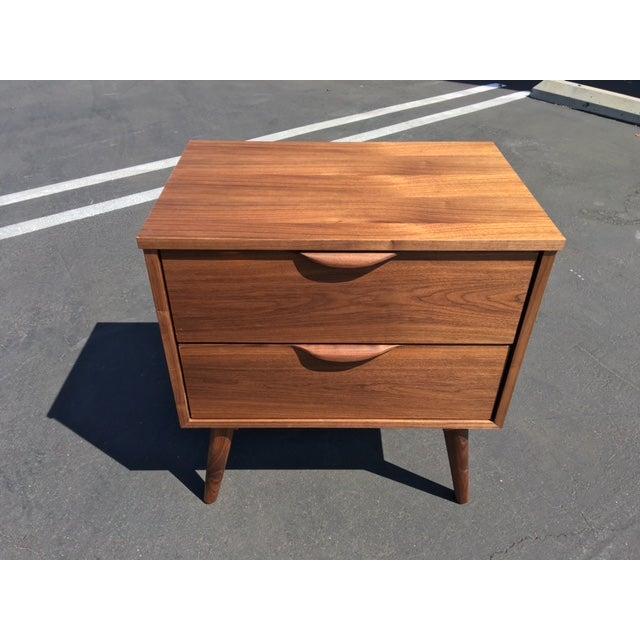 Mid-Century Modern Custom Nightstand For Sale - Image 5 of 5