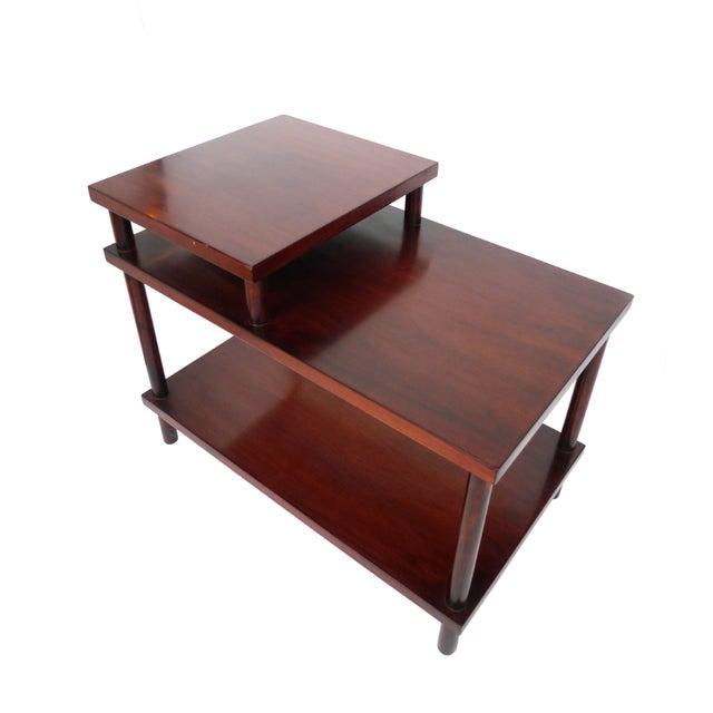 Robsjohn-Gibbings Tiered Side Table for Widdicomb For Sale