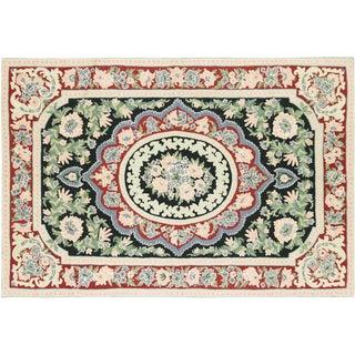 Nalbandian - Contemporary Aubusson Carpet - 4' X 6' For Sale