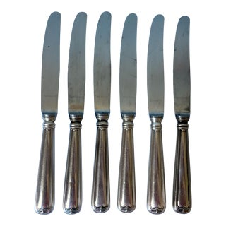 Kochberg Continental Silverplate Luncheon Knives - Set of 6 For Sale