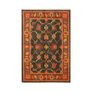 1990s Tibetan Handwoven Area Rug - 5.9x8.11 For Sale