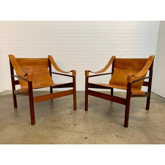 Abel Gonzalez Safari Sling Lounge Chairs - a Pair For Sale - Image 13 of 13