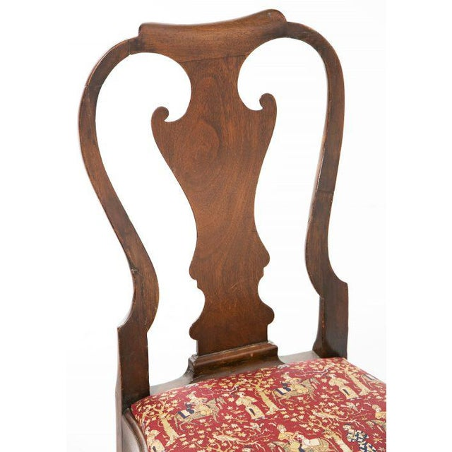 Vintage Georgian Side Chair For Sale - Image 5 of 8
